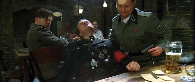 Resultado de imagen de inglorious bastards nazi fight