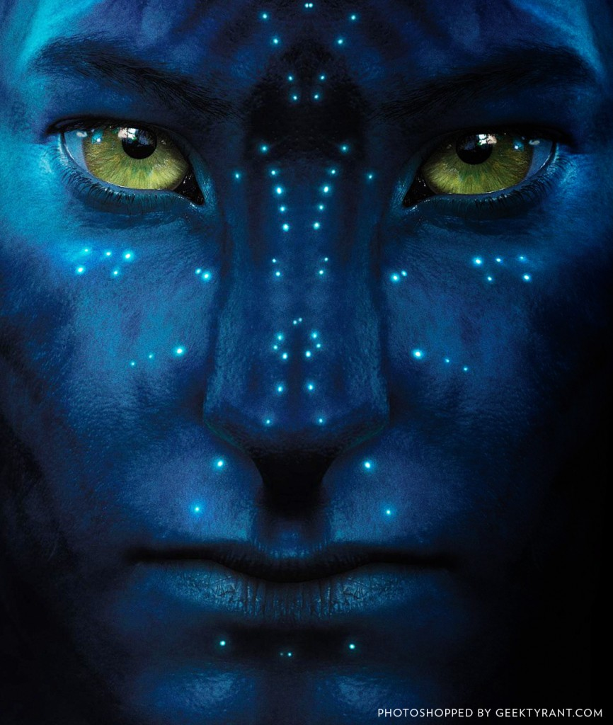 Hi Res Full Face Of The Na'vi Avatar Revealed