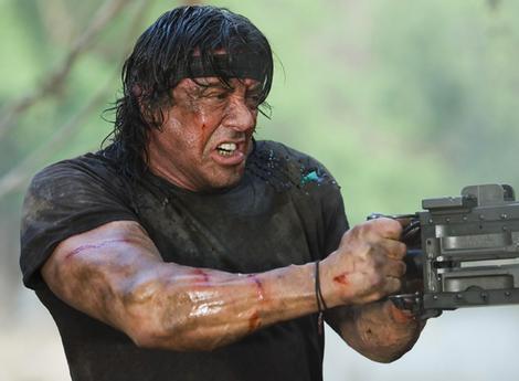 Rambo Gun