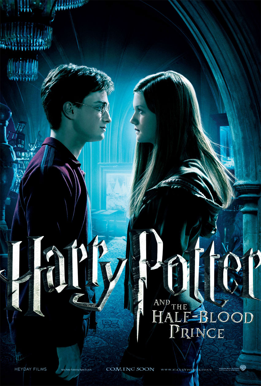 5 new great looking harry potter 6 posters � geektyrant