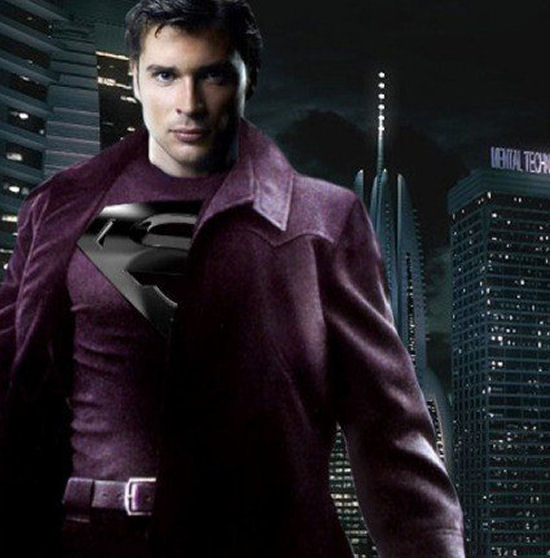 I agree with him  Smallville Superman Suit Black