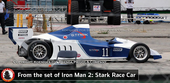 Iron man 2 Race Car