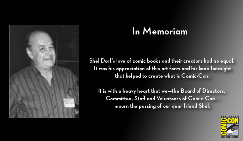 In Memoriam - Shel Dorf