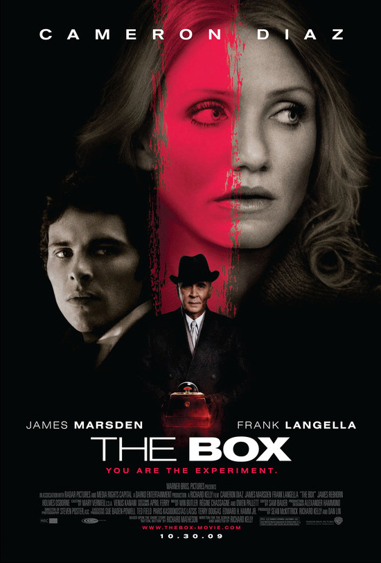 The Box movie poster final - Richard Kelly