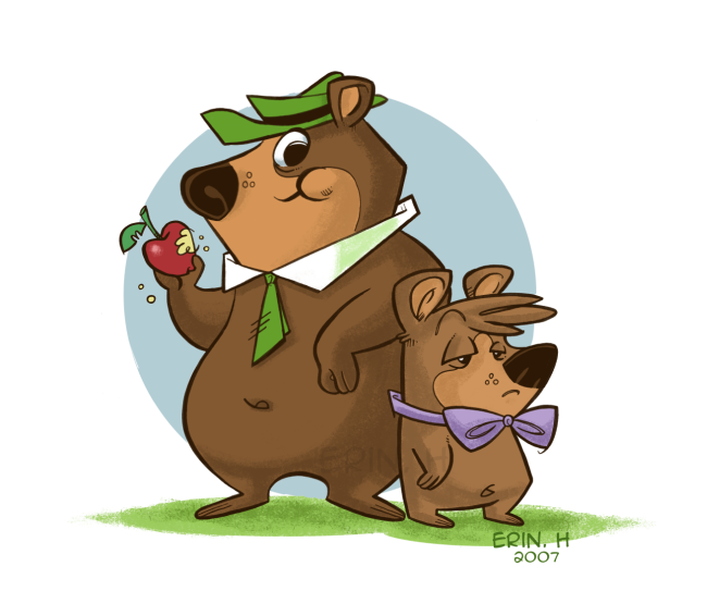 Yogi_Bear_and_Boo_Boo_by_MissLeo