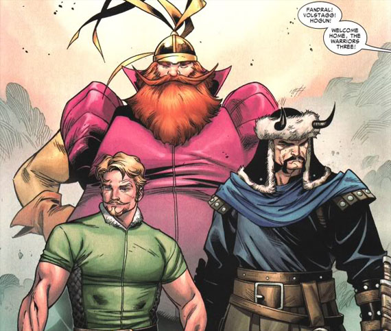 thor-warriors-three-fandral