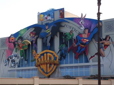 New+Warner+bros+studios+cartoon+wall+mural