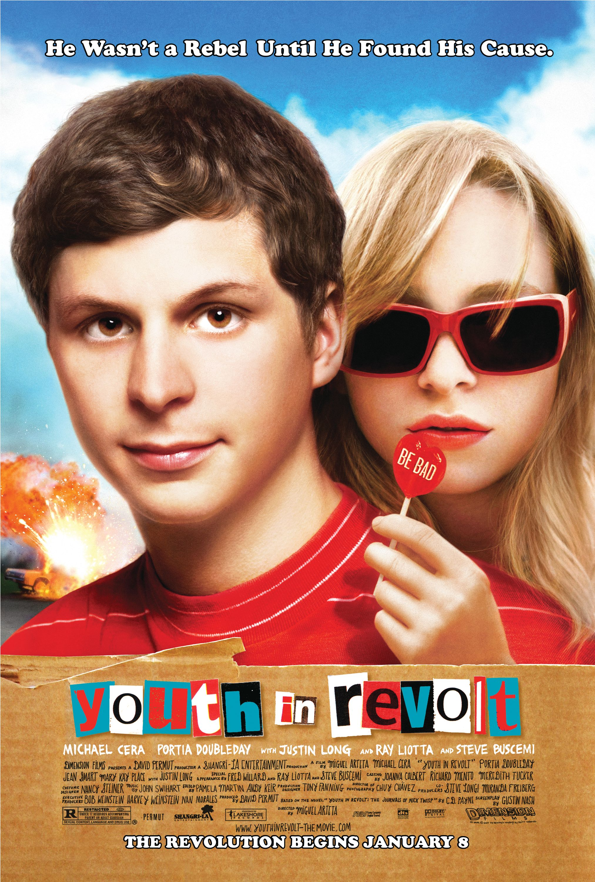 capa Youth in Revolt