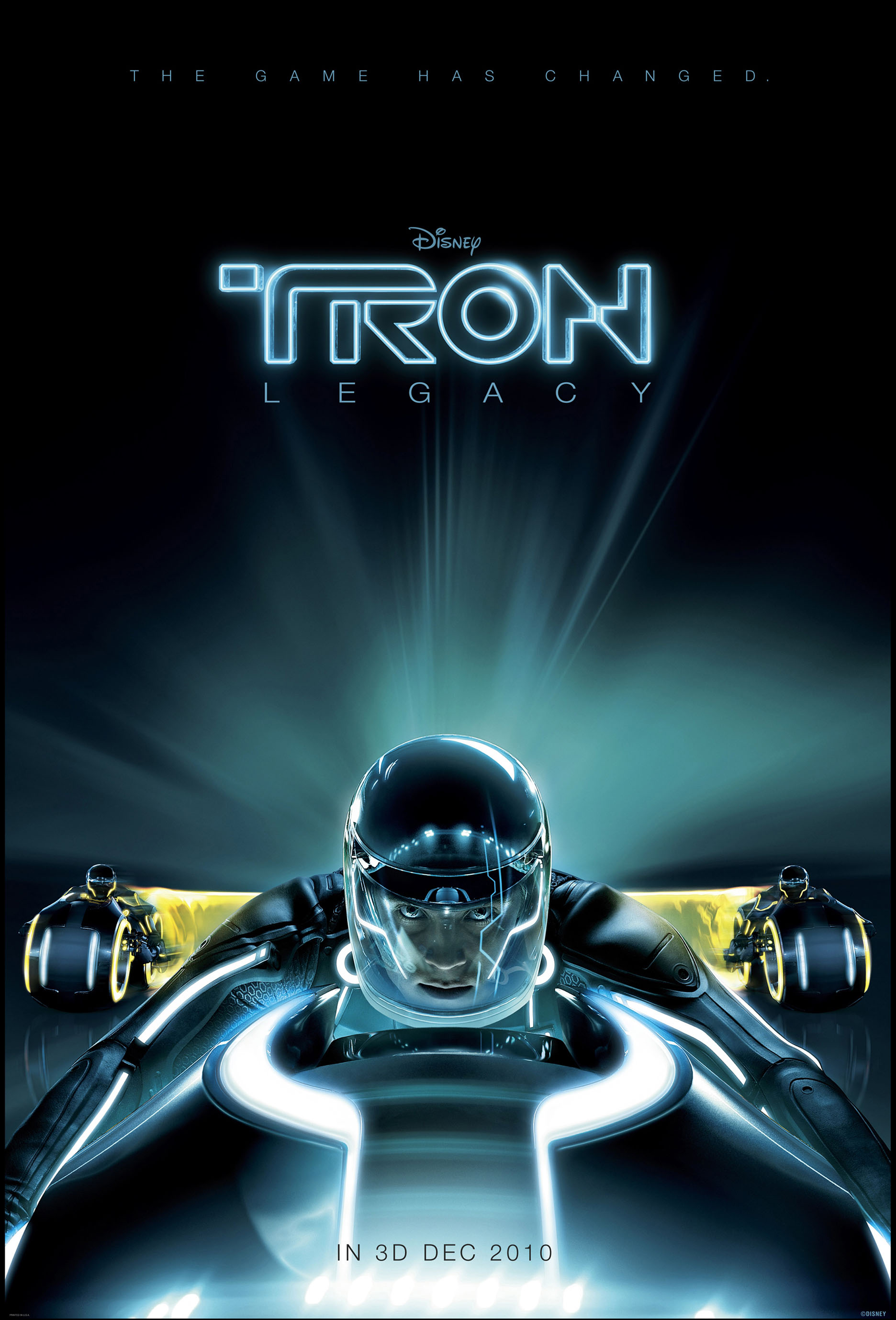 first tron legacy image and poster! — geektyrant