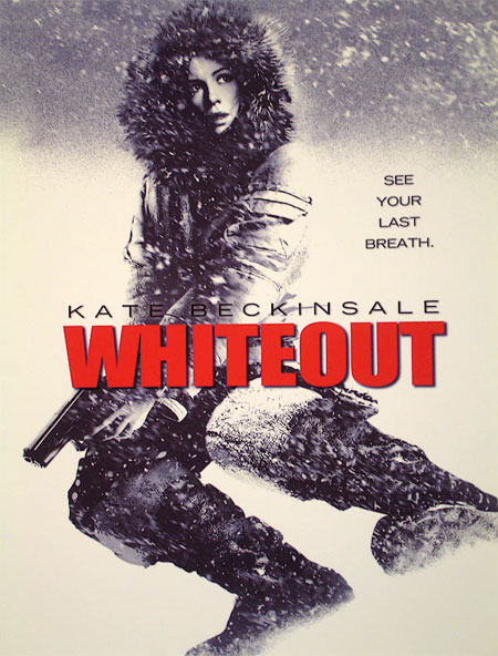 Whiteout Movie Poster Kate Beckinsale Whiteout Movie