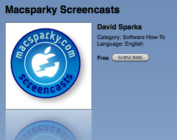 Macsparky Screencasts