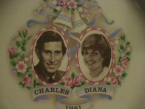 Charles and Di