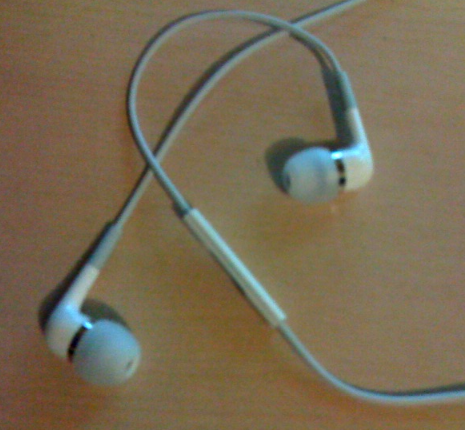 The Apple In-Ear Headphones