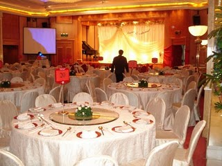 The Banquet Hall All Set Up Not As Fancy Previous Weddings