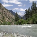 River Swat, Kalam, by Farooq Nasir