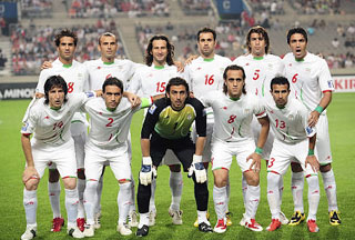 IRAN FOOTBALL GREEN