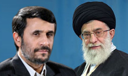 AHMADINEJAD KHAMENEI