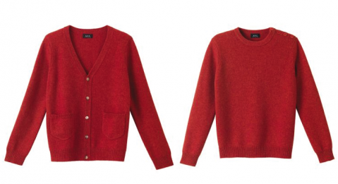 APC red wool