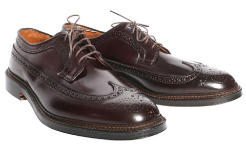 Alden Burgundy Shell Cordovan Longwing 02