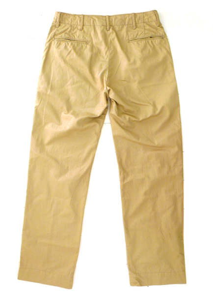 Intermediates by Engineered Garments chino 01