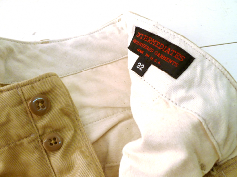 Intermediates by Engineered Garments chino 04