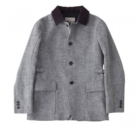 Margaret Howell Harris Tweed Coat