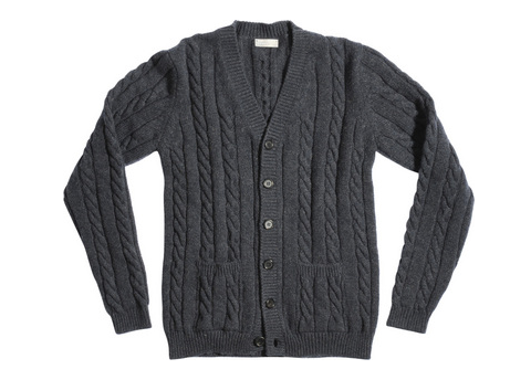 Margaret Howell cable cardigan