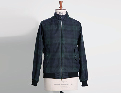 baracuta g9 plaid
