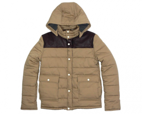 A.P.C Padded Down Jacket