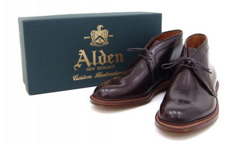 Alden CORDVAN CHUKKA BOOT 1