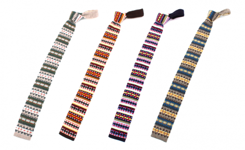 Beams light knit ties
