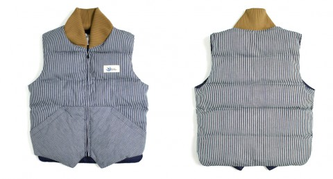 CDW Hickory Stripe Vest