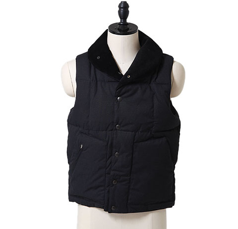 Engineered Garments shawl vest