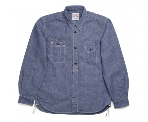 Studio D'Artisan Chambray Work Shirt 1