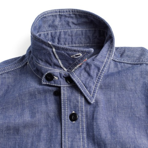 Studio D'Artisan Chambray Work Shirt 2