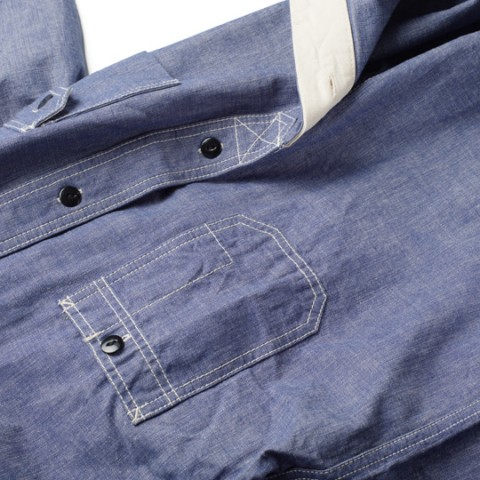 Studio D'Artisan Chambray Work Shirt 3