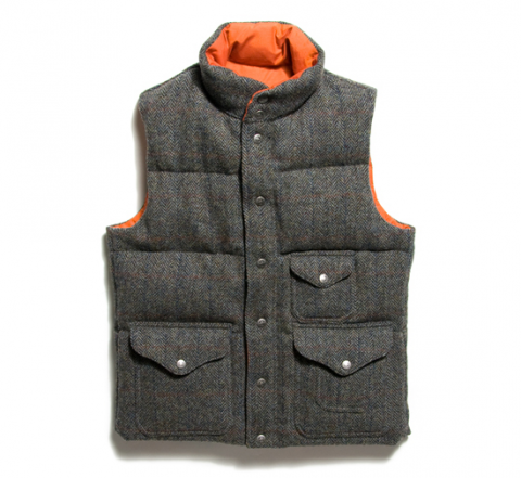 Waste(twice) down vest