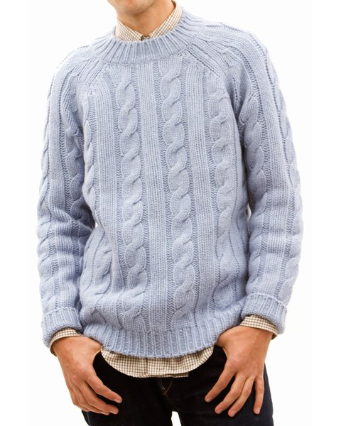 acne cableknit