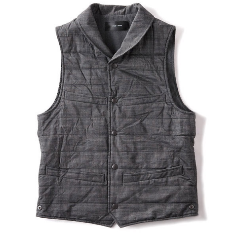 wings+horns chambray vest
