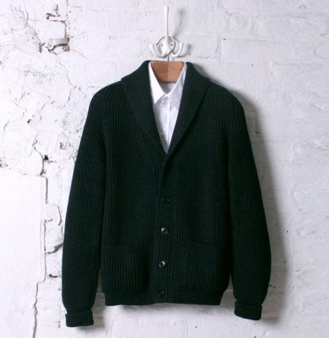 Albam Shawl Collar Cardigan