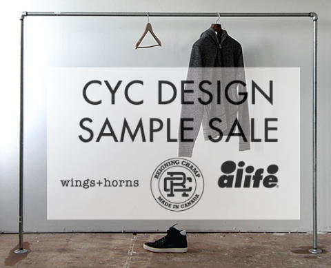 CYC Sample sale1