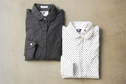 Engineered Garments SS10 Polka dots