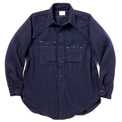 FE x Warehouse Wool Shirt 01