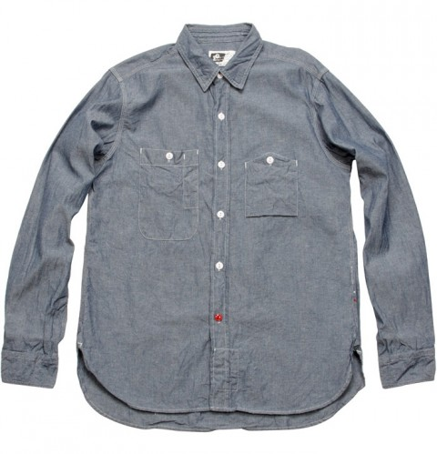 EG SS10 - Workshirt Blue