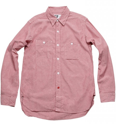 EG SS10 - Workshirt Red