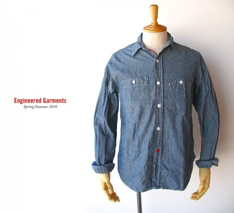 EG workshirt-blue chambray
