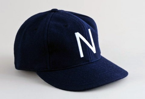 Ebbets Field Newark Bears Cap