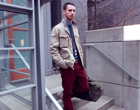ENGINEERED GARMENTS-BEAMS PLUS ASHFIELD JACKET 3