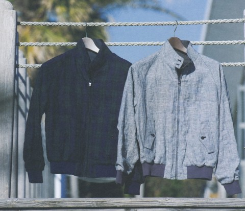 Beams Plus x Baracuta-1
