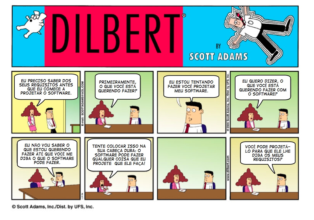 Requisitos Dilbert